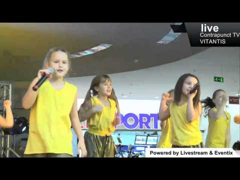Contrapunct Dance Show 2014 - Maria si Anays -Minikids