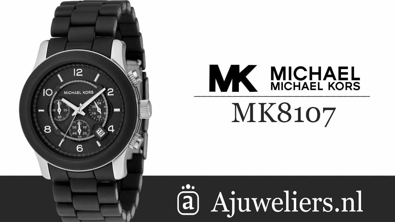 Michael Kors Ajuweliers Unisexhorloge Mk8107 vYfb76gy