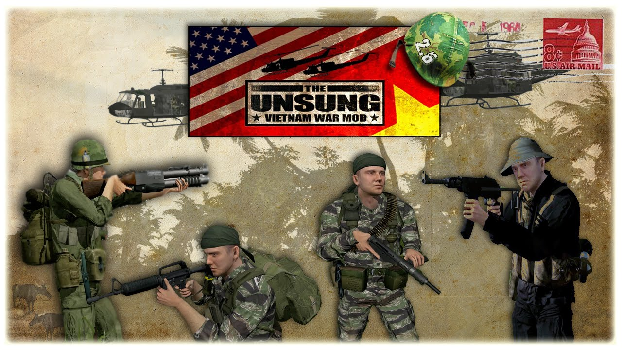 Unsung Vietnam War Mod 2 6 released! - Mods and Addons - Armaholic