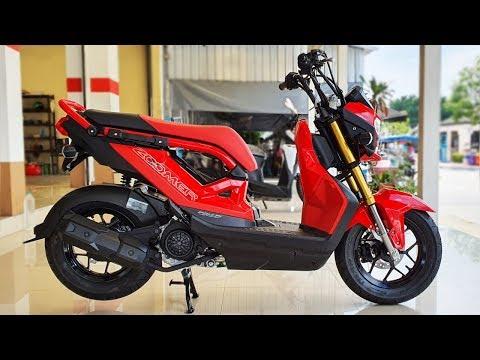 New Honda Zoomer X 110 cc. 2019 Red