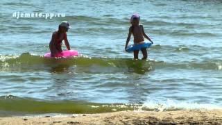 Анапа п. Джемете пляж район аквапарка