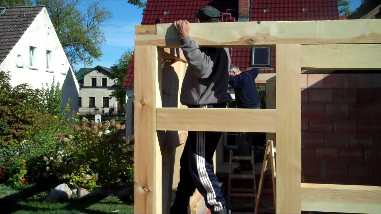 Gut bekannt Fachwerkhaus, Bau, Teil 2 - YouTube VM13