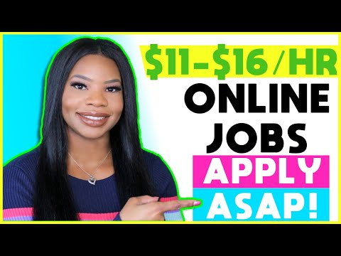 💵 *Apply ASAP!!* $11-$16 HOURLY Part-Time Work-From-Home Jobs! Training Starts NOV 18th!