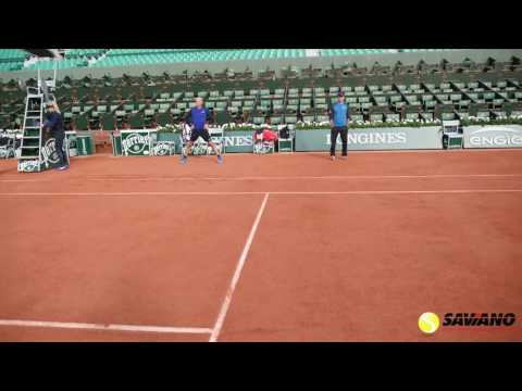 Tour Insights from Coach Nick Saviano at The French Open on the Finest Clay Courts