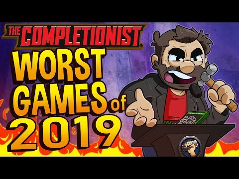 Top 10 Worst Video Games Of 2019 | The Completionist