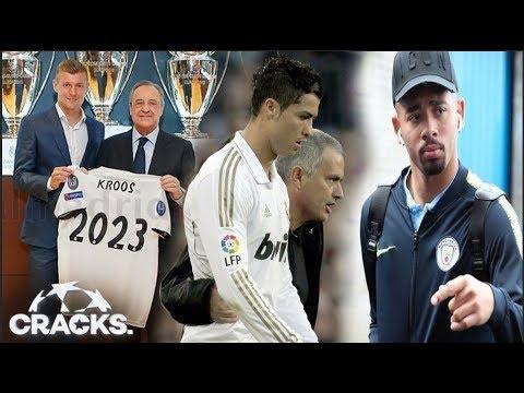 KROOS RENUEVA con el MADRID   MOU y CR7 ¿JUNTOS otra vez?   Propondrían TRUEQUE por Gabriel Jesús