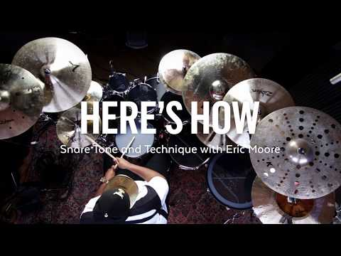 Here's How: Snare Tone and Technique with Eric Moore