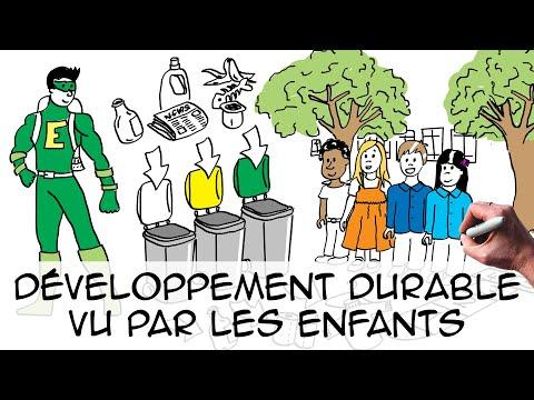 Développement durable pour les enfants