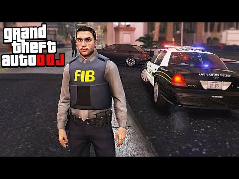 GTA 5 Roleplay - DOJ 47 - FIB Special Agent