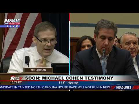 MUST WATCH: Jim Jordan RIPS Democrats and Michael Cohen Ahead of  ...
