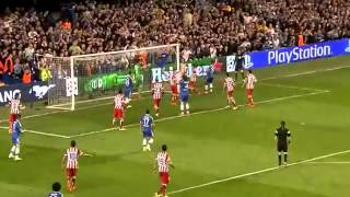 """Thibaut Courtois """"impossible Save"""" Chelsea Vs Atletico Madrid 1-3 