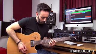 Godin A6 Ultra Guitar Demo, Acoustic or Electric? - Unai Iker