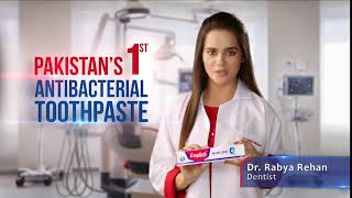 Pakistan's 1st Antibacterial toothpaste