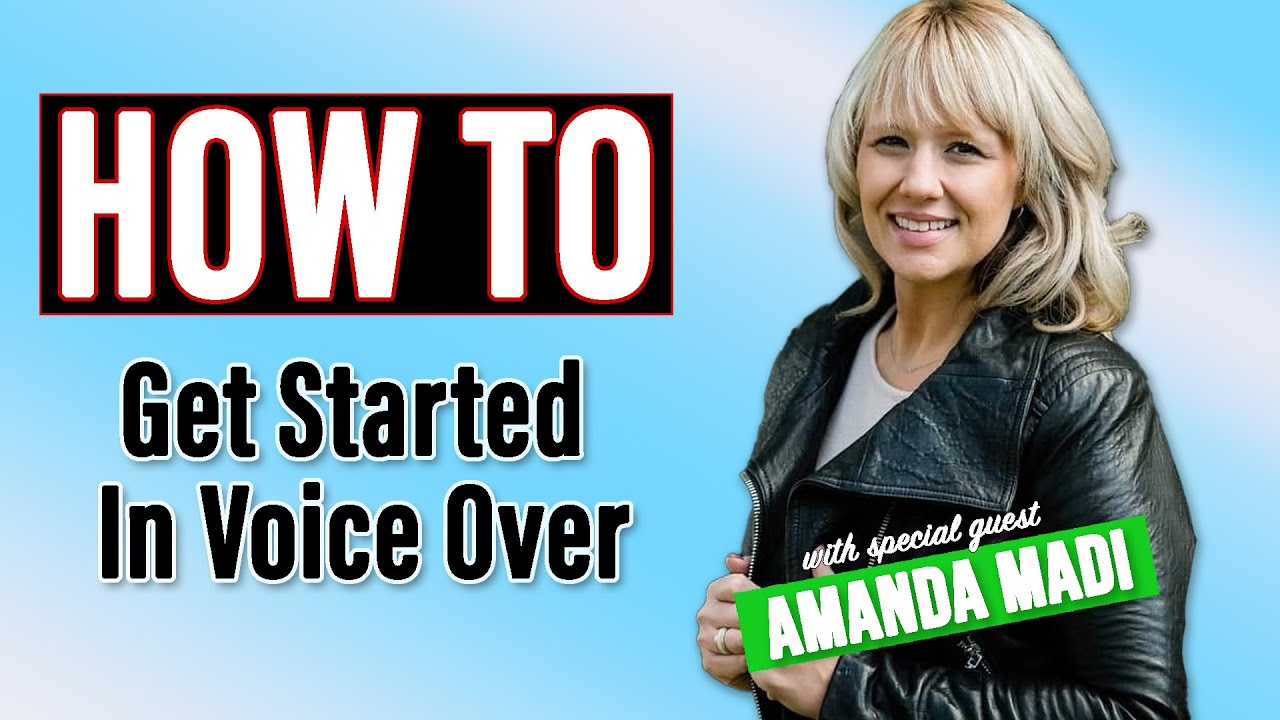 How to Radio: How To Get Into Voice Over with Amanda Madi
