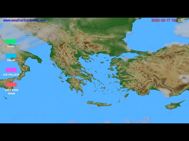 <span class='as_h2'><a href='https://webtv.eklogika.gr/precipitation-forecast-greece-modelrun-12h-utc-2020-02-16' target='_blank' title='Precipitation forecast Greece // modelrun: 12h UTC 2020-02-16'>Precipitation forecast Greece // modelrun: 12h UTC 2020-02-16</a></span>