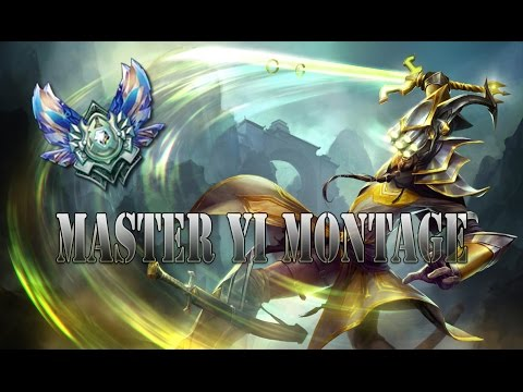 Tribute to the 1 click champion! High Elo Master Yi Montage