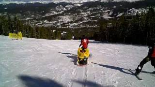 Stephen's 1st Sled Ride Down Breckenridge Thumbnail