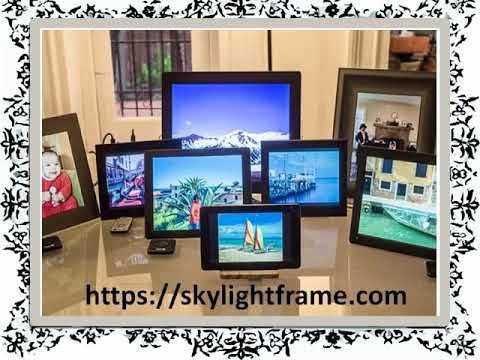What is a digital photo frame how does it work - YouTube