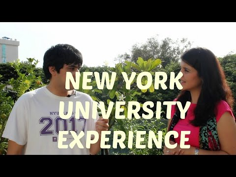 College Experience - New York University (NYU) - 1