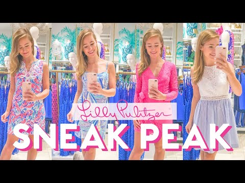 SNEAK PEAK TRY ON // Lilly Pulitzer After Party Sale Fall 2018