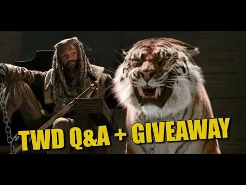The Walking Dead Season 7 Q&A Spoilers + Winner