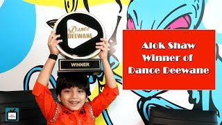 In a candid chat with Alok Shaw; winner of Dance Deewane I Exclusive I TellyChakkar