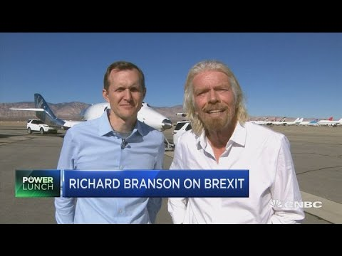 Hard Brexit would be more damaging than WWII: Sir Richard Branson