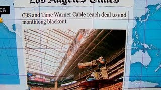 Headlines: CBS and Time Warner Cable reach agreement