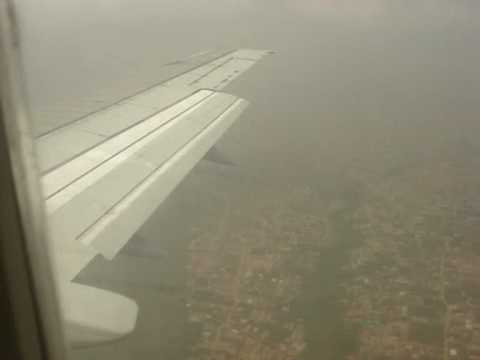 Aerocontractors 737-500 Arrival Lagos