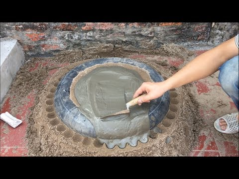 DIY - CEMENT CRAFT IDEAS | AMAZING Garden Decoration with Homemade Fountain | Cement and Life