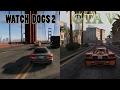 Watch Dogs 2 vs Gta 5 - COMPARISON