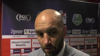 BSR TV: Mitchell van der Gaag na FC Emmen - NAC (2-0)