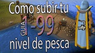 GUIA de Pesca | 1-99 | Oldschool Runescape | Como YO subi mi pesca RAPIDO!