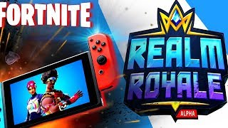 FORTNITE VS REALM ROYALE - BATTLE ROYALE