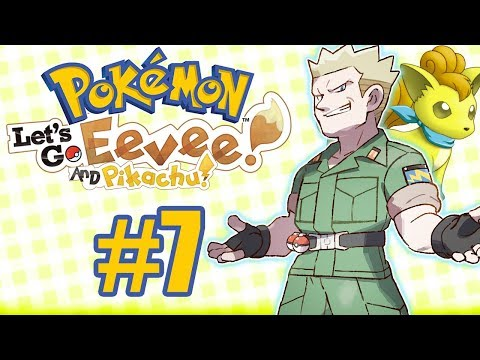 NOSSO PRIMEIRO SHINY E NOVO GINÁSIO! - Pokémon: Let's Go Eevee #7