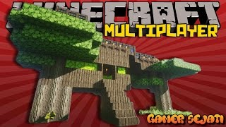 TEMA : RUMAH POHON !!! | BUILD BATTLE |  - Minecraft Indonesia -