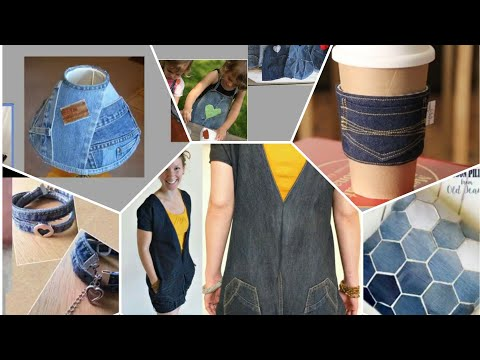 recycle your old jeans ,DIY IDEAS for your old jeans