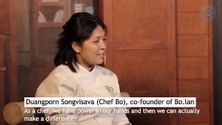 Bo.lan testimonial The PLEDGE™ on Food Waste