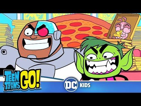 Teen Titans Go! | Free Pizza | DC Kids