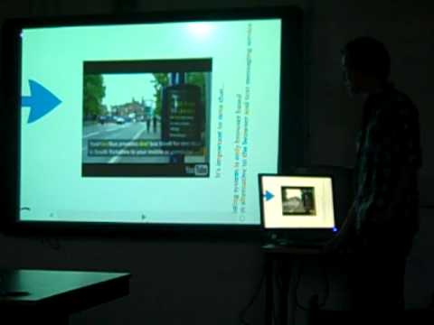 Prezi Talk - Android Sheffield Bus Times Application for Extended Project