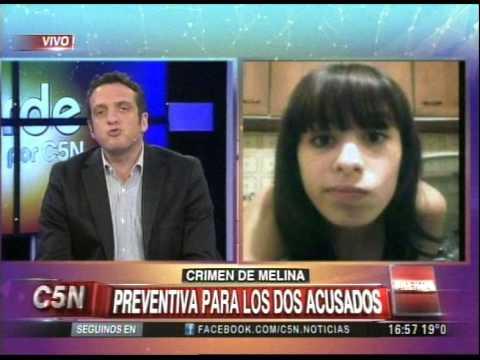 C5N - CRIMEN DE MELINA: PREVENTIVA PARA LOS DOS ACUSADOS