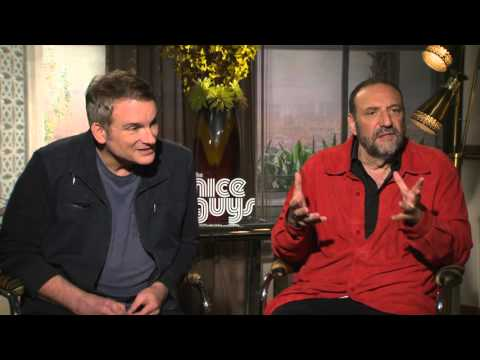 The Nice Guys: Joel Silver & Director Shane Black Official Movie Interview