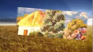 Садок вишневий коло хати Т.Г. Шевченко