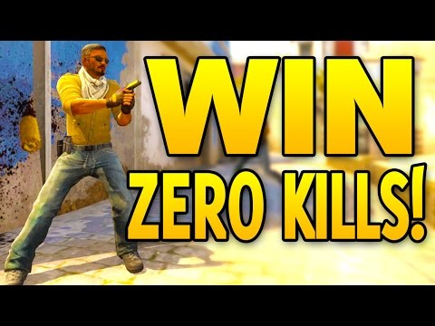 How to WIN with 0 kills - CS GO Competitroll