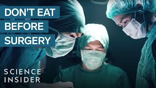 Why You Shouldn't Eat Before Surgery, According To An Anesthesiologist