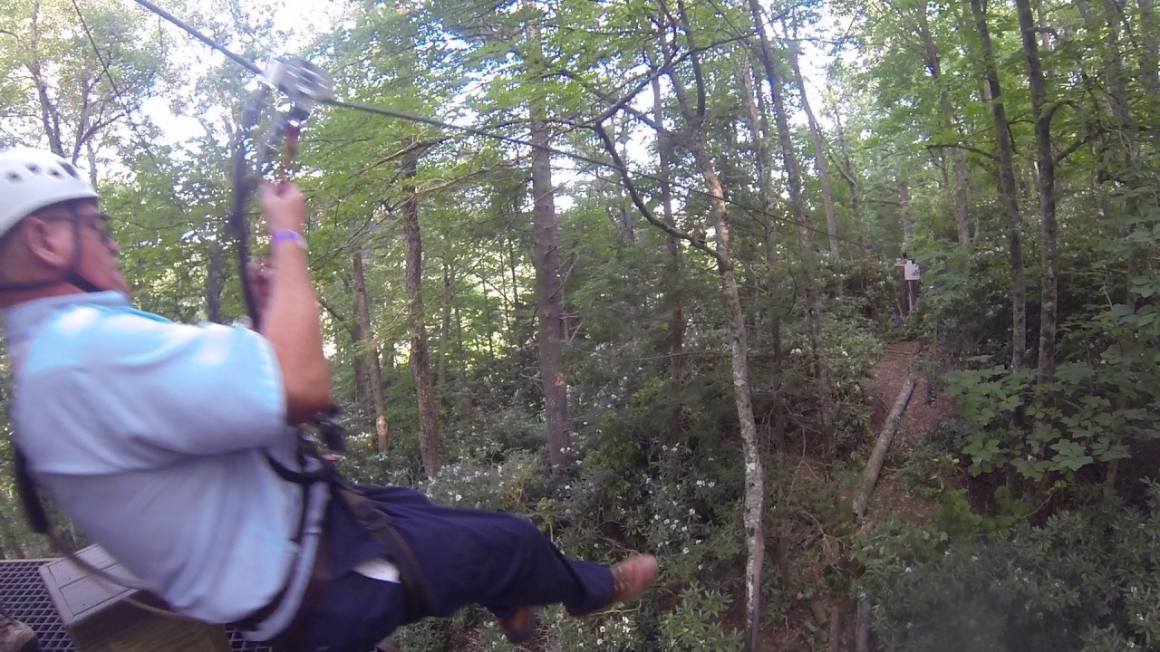 Billie Rogers Zip Line Experience At High Gravity Adventures