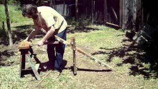Folding Shaving Horse