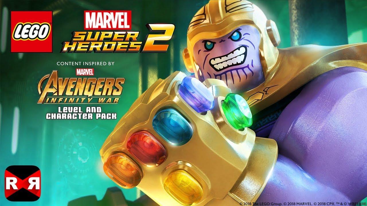 Lego Marvel Super Heroes 2 Infinity War Thanos Full Walkthrough
