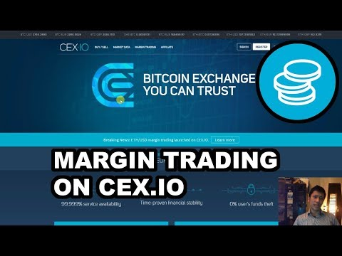 Margin Trading On CEX.IO With USD & Bitcoin