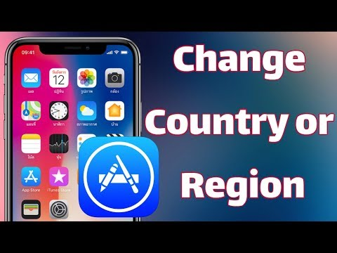 How To Change App Store Country Or Region On IPhone IOS 12